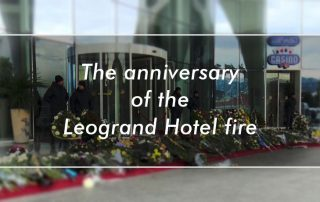 anniversary of Leogrand hotel fire