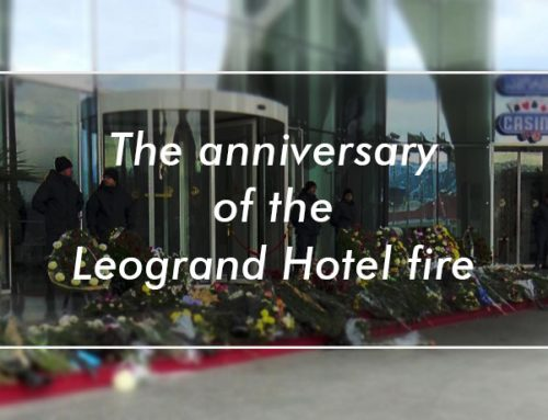 The anniversary of the Leogrand hotel fire
