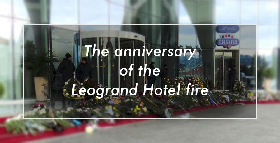 anniversary of Leogrand hotel fire